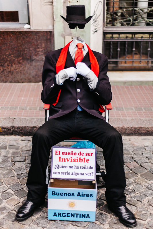 Would the Invisible Man be the best Street Photographer ever? | Buenos Aires, Argentina