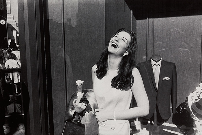 Winogrand Laughter and Icecream