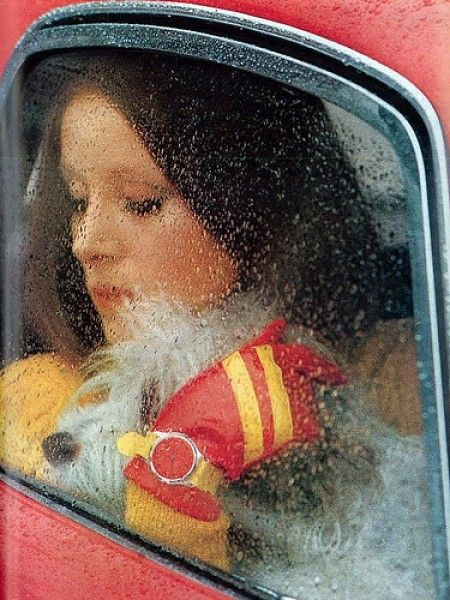 Woman in car II