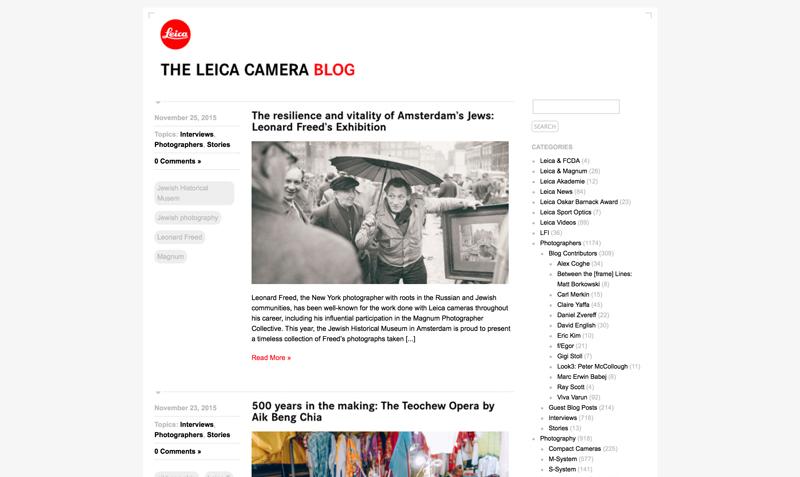 Leica-Blog