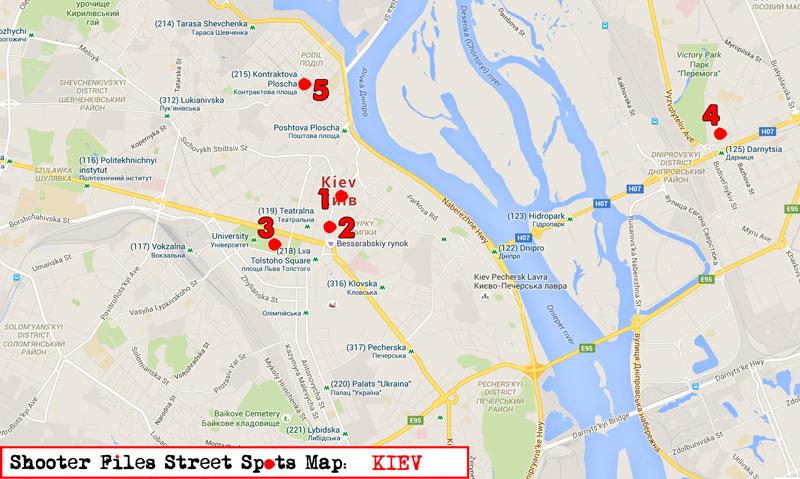 Kiev-Map