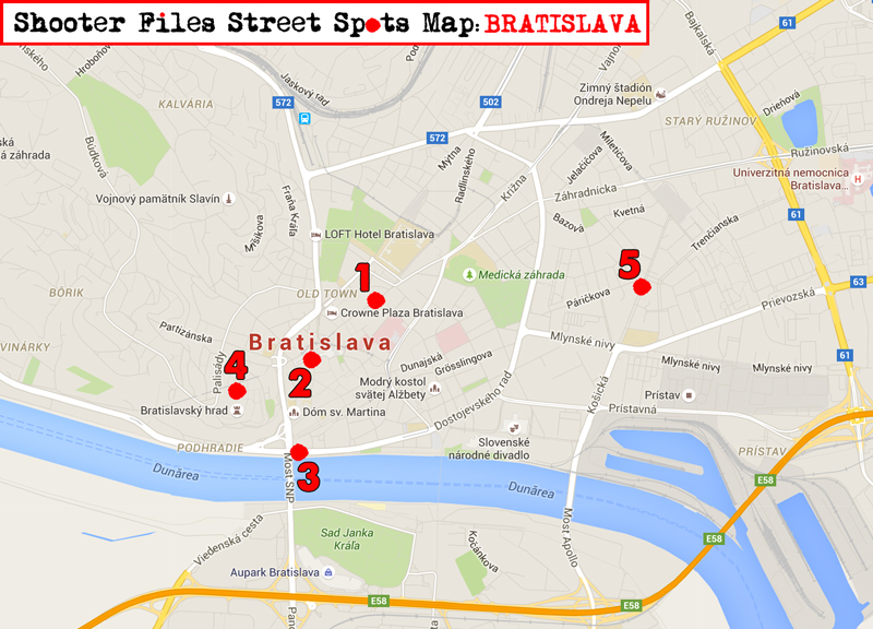 Bratislava Street Photography Guide to City Map Tips Streets Photos