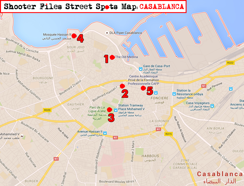 Casablanca-Guide-Map