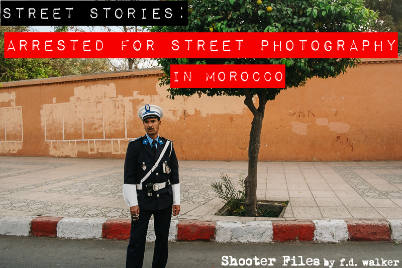 Street-Photography-Arrested-Morocco