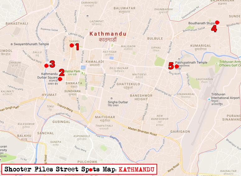 Kathmandu-street-spots-map
